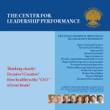 Center for Leadership Performance brochure - English