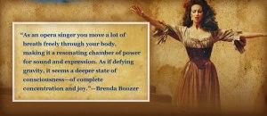Brenda Boozer, Metropolitan Opera Soloist